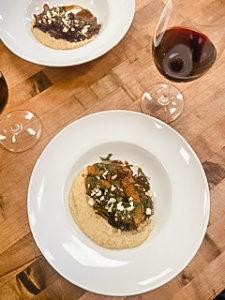 Lamb Ragu plated for recipe 1